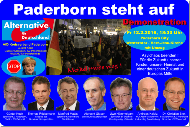 Demo Paderborn