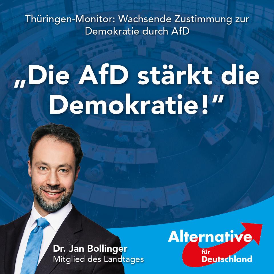 Dr Bollinger Afd Zu Thuringen Monitor Afd Starkt Die