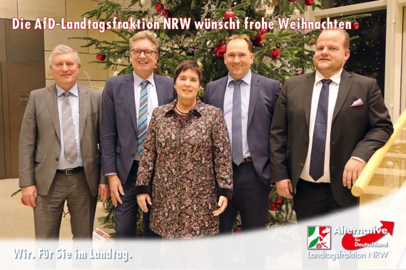 Frohe Weihnachten Wann Wünscht Man.Die Afd Landtagsfraktion Nrw Wünscht Frohe Weihnachten Afd