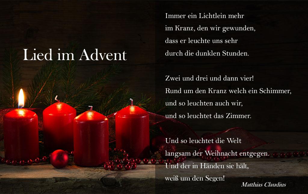 Christliche Gedanken Zum Advent