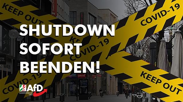 Bundesregierung Shutdown