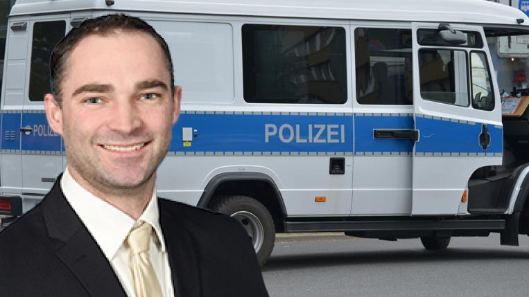 Polizei findet in Eisenbahnstraße Waffen, gefälschte Pässe und Kfz-Papiere