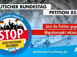Jetzt die Petition 85565 gegen den Migrationspakt mitzeichnen!
