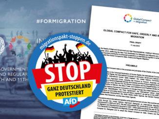 Migrationspakt NEIN, DANKE! Immer mehr Staaten verweigern ZustimmungMigrationspakt NEIN, DANKE! Immer mehr Staaten verweigern Zustimmung