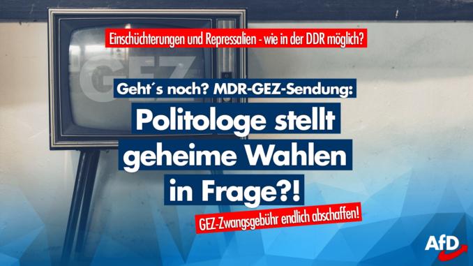 Wahl In Gera