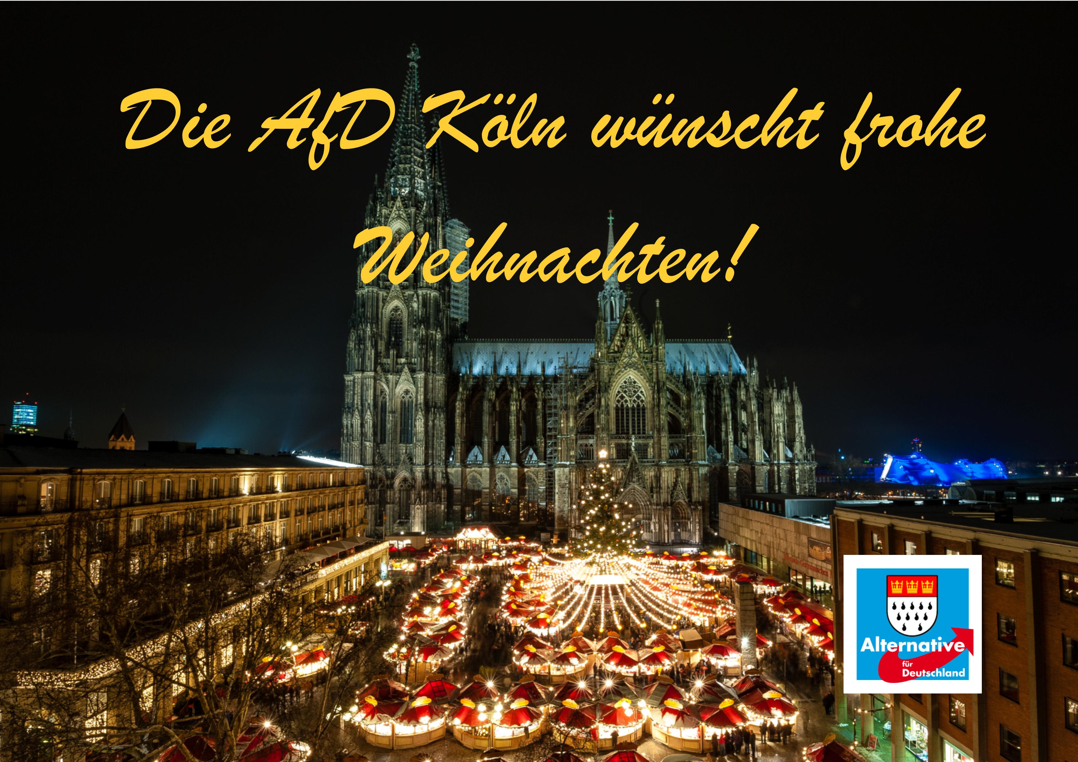 Frohe Weihnachten Aus Deutschland.Frohe Weihnachten Afd Kreis Koln