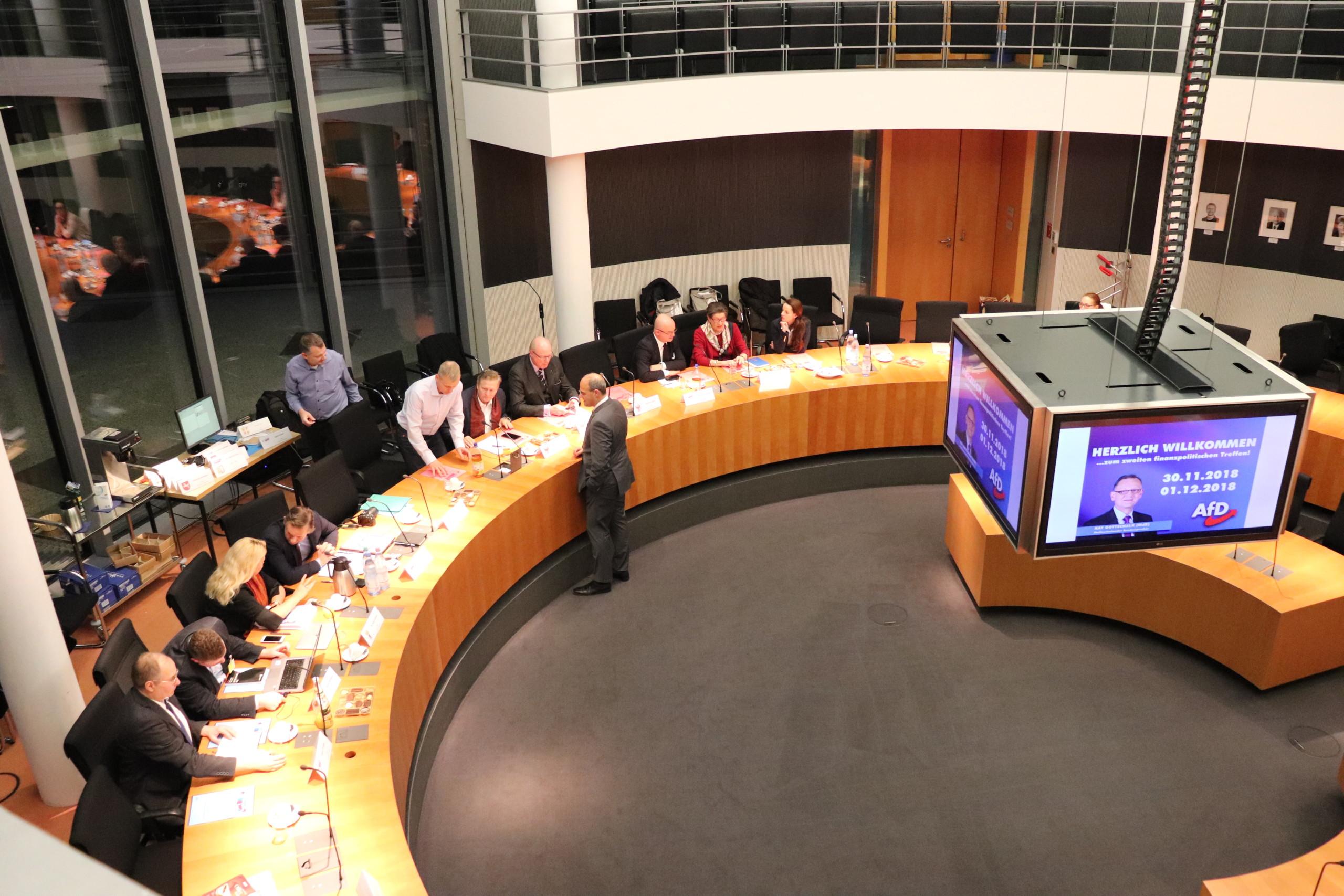 Zweites finanzpolitisches Treffen in Berlin - Kay
